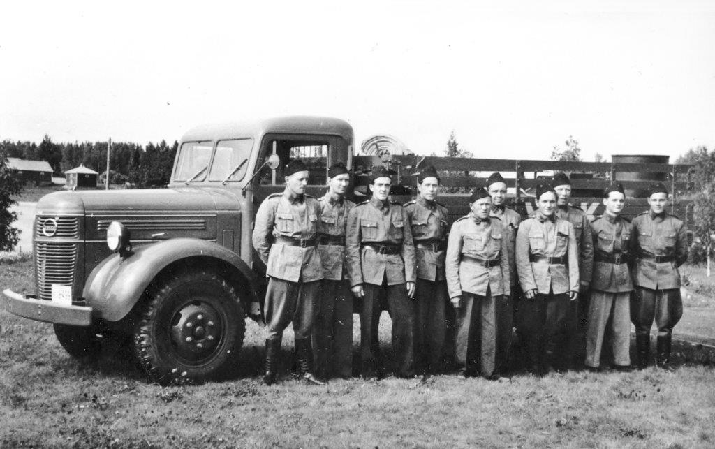 Nummen VPK 1950-luvulla