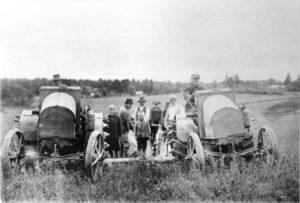 Nummen ensimmäiset traktorit