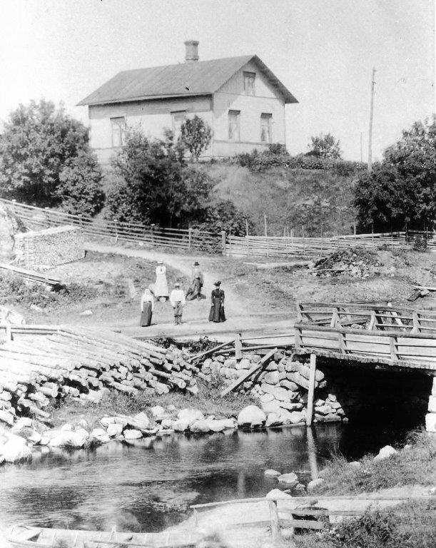 Nummenjoen vanha silta (ennen v. 1929)