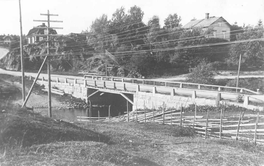Nummenjoen silta, rakennettu v. 1929