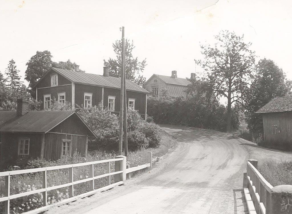 Nummenjoen silta 50-luvulla