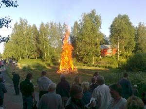 Kokkojuhla Juhannuksena 2012